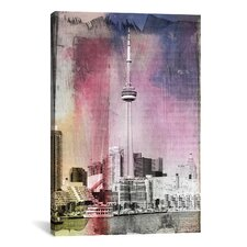 Toronto, Canada Tower 3 Graphic Art on Canvas