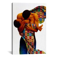 """Sheltering Love"" Canvas Wall Art by Keith Mallett"