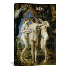 'The Three Graces' by Peter Paul Rubens Painting Print on Canvas