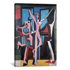 'Three Dancers' by Pablo Picasso Painting Print on Canvas