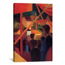 'Tightrope Walker' by August Macke Painting Print on Canvas