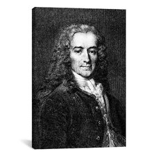 Political Voltaire Portrait Painting Print on Canvas