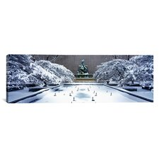 Panoramic Fountain of the Great Lakes, Art Institute of Chicago Photographic Print on Canvas