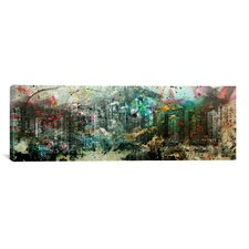 Vancouver, Canada Skyline Panoramic 3 Graphic Art on Canvas