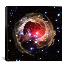 V838 Monocerotis (Hubble Space Telescope) Canvas Wall Art
