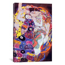 'Virgin' by Gustav Klimt Painting Print on Canvas