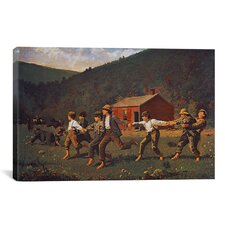 'Snap the Whip' by Winslow Homer Painting Print on Canvas
