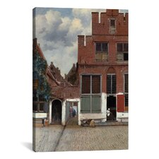 'Street in Delft' by Johannes Vermeer Painting Print on Canvas