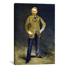 'The Self Portrait' by Edouard Manet Painting Print on Canvas