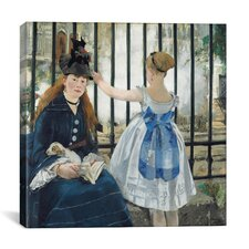 """The Railway"" Canvas Wall Art by Edouard Manet"