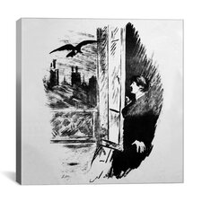 """The Raven II"" Canvas Wall Art by Edouard Manet"