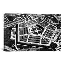 Political The Pentagon Photographic Print on Canvas