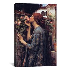 'The Soul of The Rose' by John William Waterhouse Painting Print on Canvas