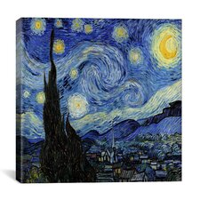 """""""The Starry Night"""" Canvas Wall Art by Vincent Van Gogh"""