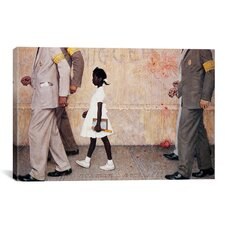 'The Problem We All Live with (Ruby Bridges)' by Norman Rockwell Painting Print on Canvas