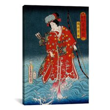 Japanese Art 'Sawamura Tanosuke Iii'  Painting Print on Canvas by Kunisada