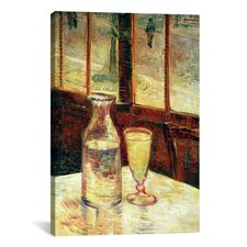 'The Still Life with Absinthe' by Vincent Van Gogh Painting Print on Canvas