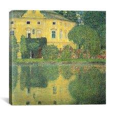 """Schloss Kammer on the Attersee IV (Schloss Kammer on Lake Attersee IV)"" Canvas Wall Art by Gustav Klimt"