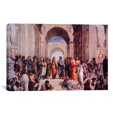 'School of Athens' by Raphael Painting Print on Canvas