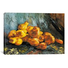 'Still Life with Pears' by Vincent Van Gogh Painting Print on Canvas