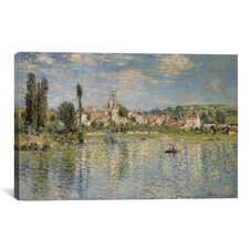 Vetheuil in Summer 1880 by Claude Monet Painting Print on Canvas