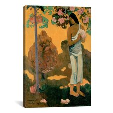 'The Month of Mary (Te Avae No Maria)' by Paul Gauguin Painting Print on Canvas