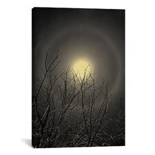 'The Moon is the North Wind's Cookie' by Geoffrey Ansel Agrons Photographic Print on Canvas