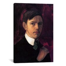'Self Portrait' by August Macke Painting Print on Canvas