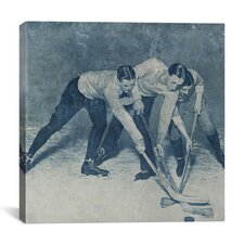 Canada Vintage Hockey Game #4 Graphic Art on Canvas
