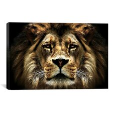 'The Lion from SD' Smart Painting Print on Canvas