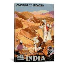See India Vintage Advertisement on Canvas