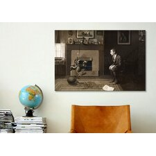 'The Magic Foorball' by Norman Rockwell Painting Print on Canvas