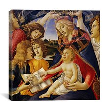 """The Madonna of the Magnificat"" Canvas Wall Art by Botticelli Sandro"