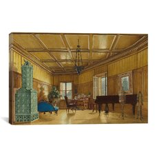 Fine Art 'The Music Room of Archduchess Margarete' by Heinrich Von Forster Painting Print on Canvas