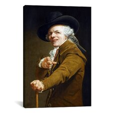 Self-Portrait' by Joseph Ducreux Painting Print on Canvas