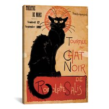 Tournee Du Chat Noir Vintage Advertisement on Canvas