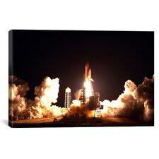 Space Shuttle Endeavour Launch Canvas Wall Art