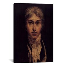 'Self Portrait 1799' by Joseph William Turner Painting Print on Canvas