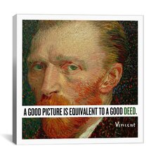 Vincent Van Gogh Quote Canvas Wall Art