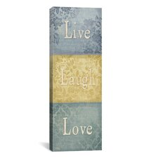 """Words of Life I"" Canvas Wall Art from Sparx Studio"