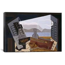 'The Open Windwon' by Juan Gris Painting Print on Canvas