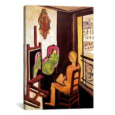"""The Painter and his Model"" Canvas Wall Art by Henri Matisse"