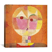 'Senecio' by Paul Klee Painting Print on Canvas