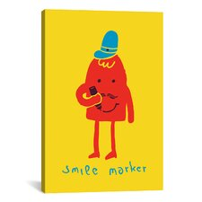 'Smile Marker' by Budi Satria Kwan Graphic Art on Canvas