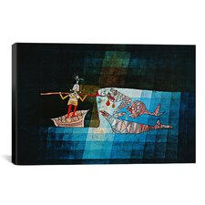 'Sinbad the Sailor' by Paul Klee Painting Print on Canvas