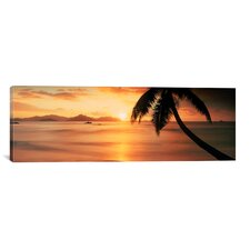 Panoramic Anse Severe, la Digue Island, Seychelles Photographic Print on Canvas