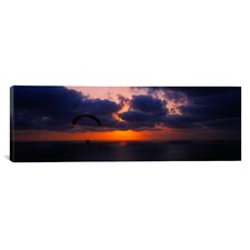 Panoramic Blacks Beach, San Diego, California Photographic Print on Canvas