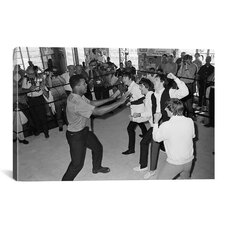 Muhammad Ali The Beatles Photographic Print on Canvas