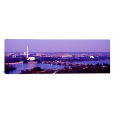 Panoramic Washington, D.C Photographic Print on Canvas