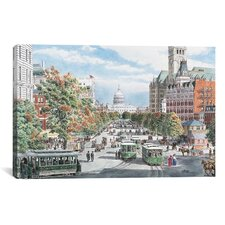 """Washington, D.C, Gridlock"" Canvas Wall Art by Stanton Manolakas"